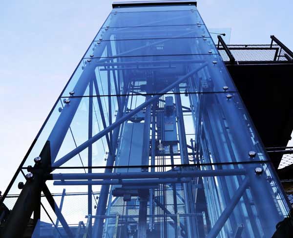 Ειδική κατασκευή ανελκυστήρα