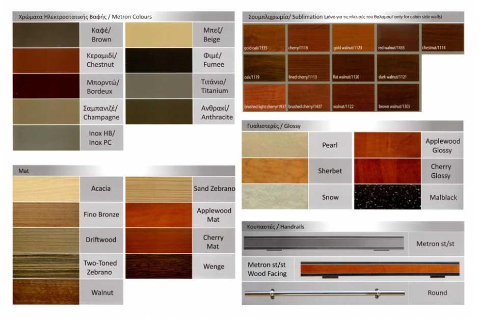Χρώματα Ηλεκτροστατικής Βαφής | Εσωτερική Επένδυση