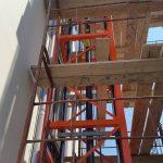 External lift installation at Kiato