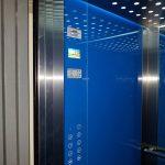 Lift installation at Lamia