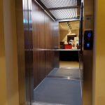 Lift installation at Kalamata Hotel
