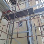 Lift installation at Porto Rafti