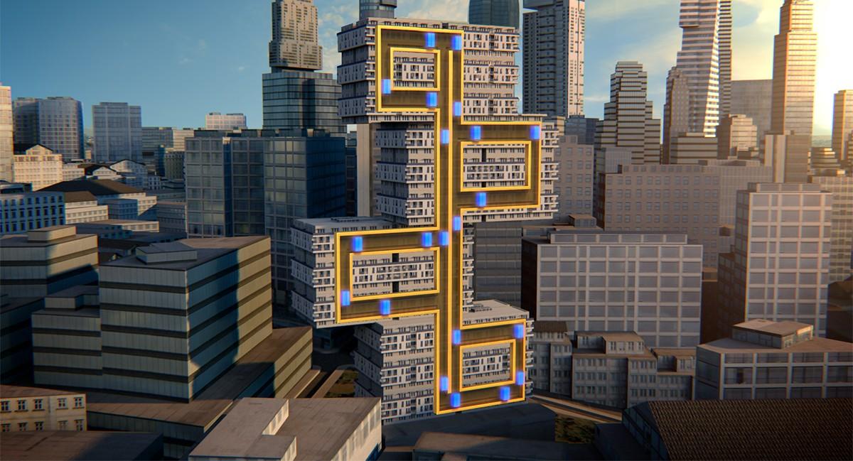 Ανελκυστήρας που κινείται οριζοντίως και καθέτως